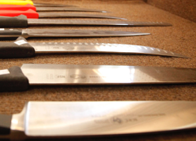Home Chef knife sharpening service