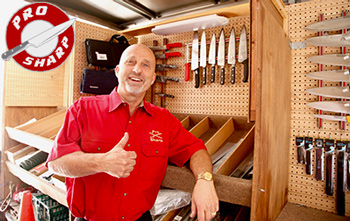Jeff Higgins, Pro Sharp Owner