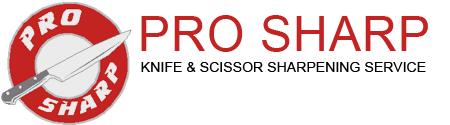 Pro Sharp Knife, Scissor, Blade Sharpening Service